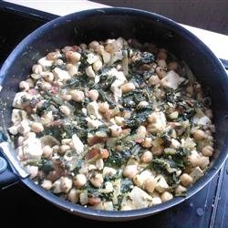 Spinach Chickpea Curry recipe