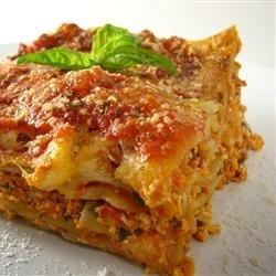 Tofu Lasagna recipe