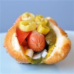 Chicago-Style Hot Dog recipe