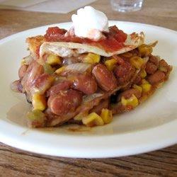Mexican Bean Pie recipe