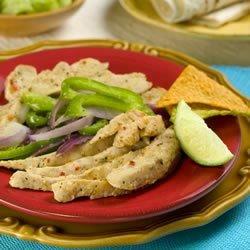 Tangy Chicken Fajitas recipe