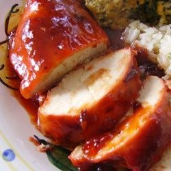 Cranberry Sauce Chicken II recipe