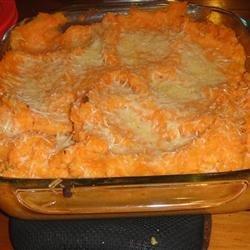 Rosemary Mashed Potatoes and Yams recipe