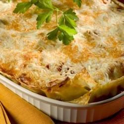 Vegetarian Four Cheese Lasagna recipe