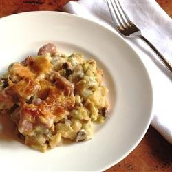 Ham, Potato and Broccoli Casserole recipe