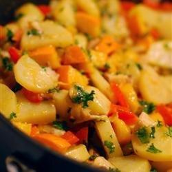 Winter Vegetable Hash recipe