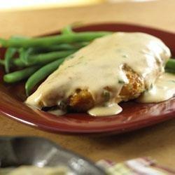 Paprika Chicken with Sour Cream Gravy recipe