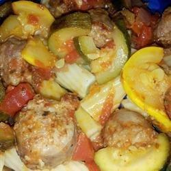Italian Sausage and Zucchini recipe