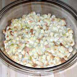 Baked Chicken and Stuffing recipe