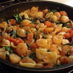 Cajun Shrimp Orecchiette recipe