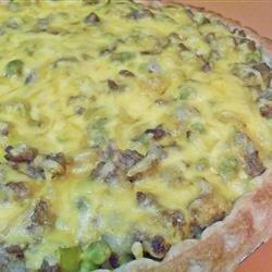Quick Cheeseburger Pie recipe
