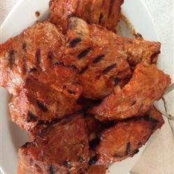 Barbequed Pork Ribs recipe