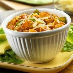 Southwest White Chicken Chili recipe