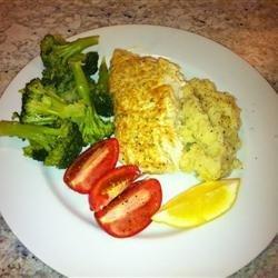 Broiled Grouper Parmesan recipe