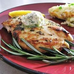 Rosemary Lemon Grilled Chicken recipe
