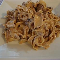 Slow Cooker Beef Stroganoff II recipe
