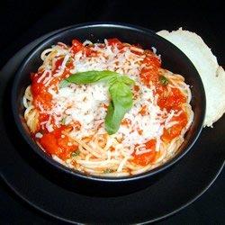 Tomato and Garlic Pasta recipe