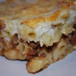 Pastitsio II recipe