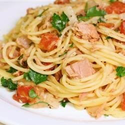 Pasta With Tuna Sauce recipe