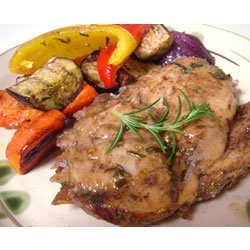 Roasted Rosemary Chicken And Vegetables recipe