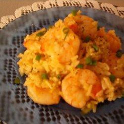 Shrimp Curry Rice recipe