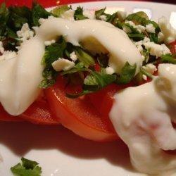 Fresh Herb and Tomato Salad recipe