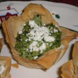 Mini Spinach Souffle' Cups (Stouffers) recipe