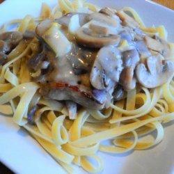 Pork and Mushroom Casserole recipe