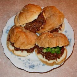 Half-Time Shredded Beef Sandwiches recipe