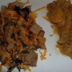Stove Top Cheesy Beef and Potato recipe