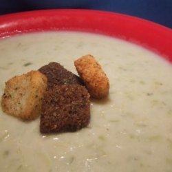 Potato Leek Cheese Soup recipe