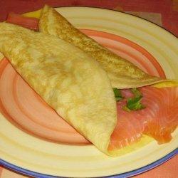 Omelette Wrap recipe