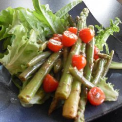 Asparagus and Green Bean Salad with Herb Dijon Dressing recipe