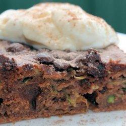 Won't Kill the Diet Chocolate Cinnamon Zucchini Cake recipe
