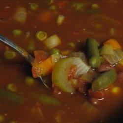 Chili Minestrone Soup (Crock Pot) recipe