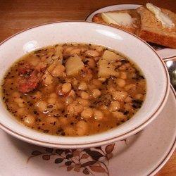Bill's Super Bowl Navy Bean Soup recipe