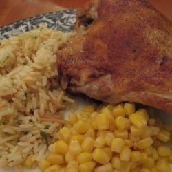 Boston Rotisserie Style Chicken recipe