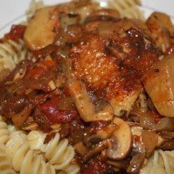 Chicken and Artichoke Cacciatore recipe