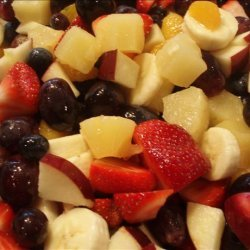 Haleighs Favorite Fresh Fruit Salad recipe