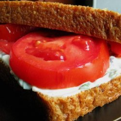 Heirloom Tomato Sandwich With Basil Mayo recipe