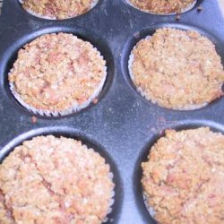 Date Muffins With Streusel Topping recipe