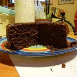 Really Chocolate Chocolate Cake With Chocolate Fudge Frosting recipe