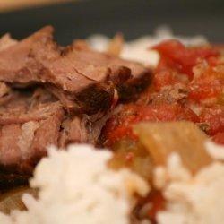 Cajun Pot Roast for the Crock Pot recipe