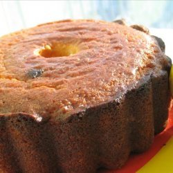 Lemon Cake With Lemon Cream or Raspberry Sauce recipe