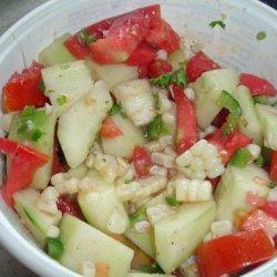 Corn, Tomato & Cucumber Salad recipe