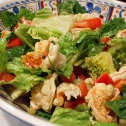 Spicy Margarita Shrimp Salad recipe