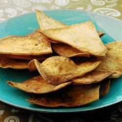 Spicy Tortilla Chips recipe
