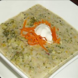 Orange Leek Soup recipe