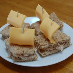 Tuna and Cheese Pirate Ships recipe