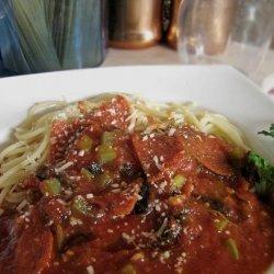 Pepperoni Pasta Casserole recipe